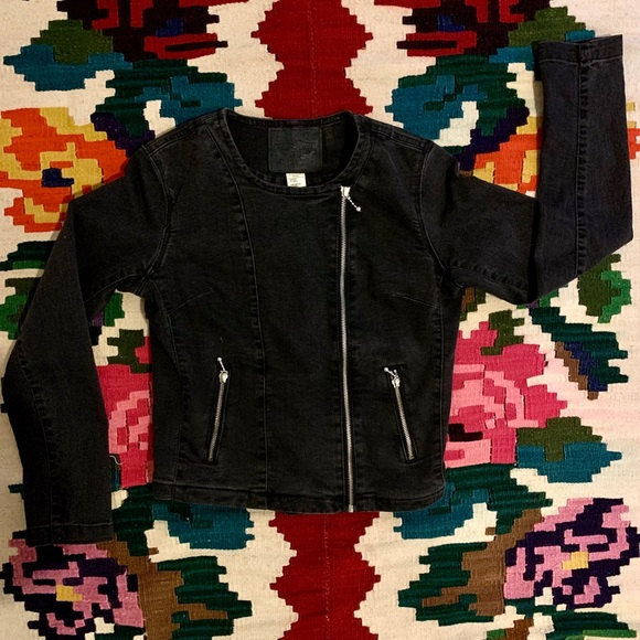 Levi's Moto Style Denim Jacket